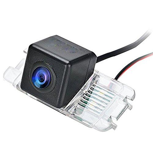 Navinio Rückfahrkamera Einparkhilfe Fahrzeug-spezifische Kamera integriert in Nummernschild Licht für Galaxy Mondeo MK2 MK3 MK4 Fiesta MK6