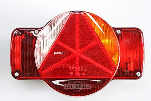 Rückleuchte Heckleuchte Humbaur rechts Blinker Standlicht Bremse Rückfahrscheinwerfer 7.Pol 12V Anhänger Rückleuchte Rücklicht Hecklicht
