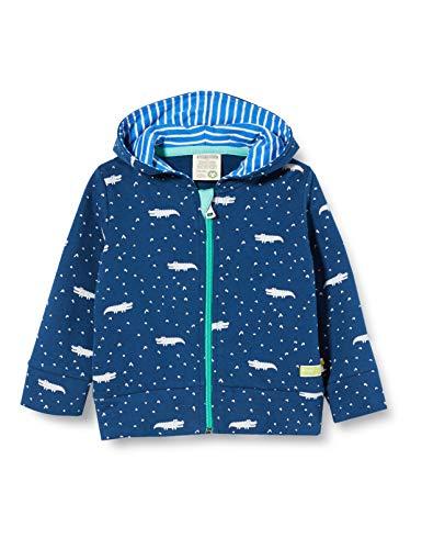 loud + proud Jacket Allover Print Organic Cotton Chaqueta, Azul (Ultramarine...