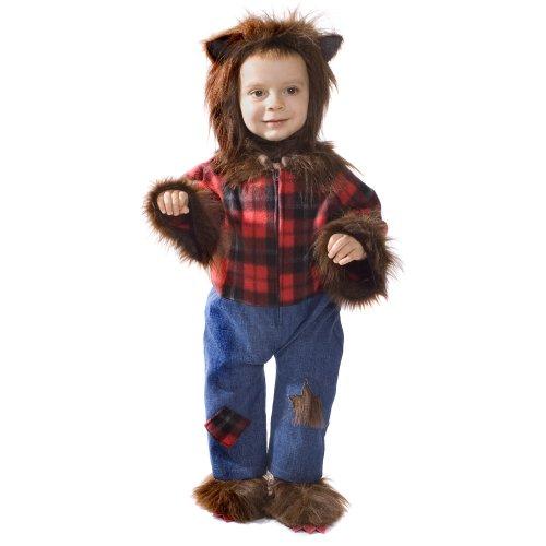 Dress Up America Disfraz de Cute bebé Hombre Lobo Hairy