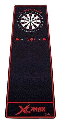 XQ Max Sof-Feel, Nero/Rosso, 80cm x 237cm