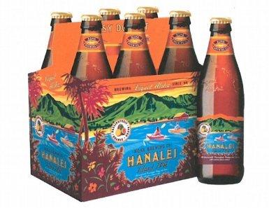 6 Flaschen Kona Bier Hanalei a 0,355l aus Hawaii Island Indian Pale Ale 4.5% inc. 1.50€ EINWEG Pfand