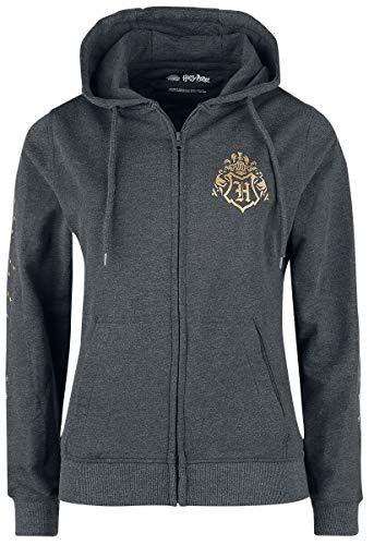 HARRY POTTER Hogwarts Home Donna Felpa jogging carbone L 70% cotone, 30% poliestere Regular