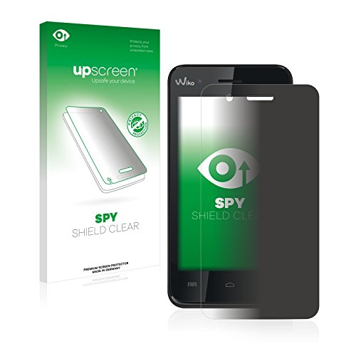 upscreen Anti-Spy Blickschutzfolie kompatibel mit Wiko Sunset Privacy Screen Sichtschutz Bildschirmschutz-Folie