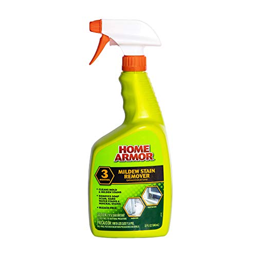 HOME ARMOR Mildew Stain Remover - Bleach Free Cleaner Spray - Trigger Spray Bottle - 32 ounce