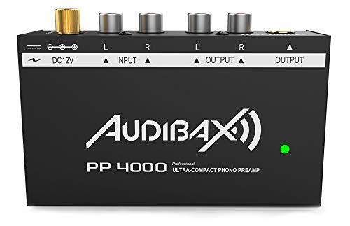 Audibax PP4000 Preamplificador Previo Phono RIAA. Único en el Mercado con Interruptor ON/Off
