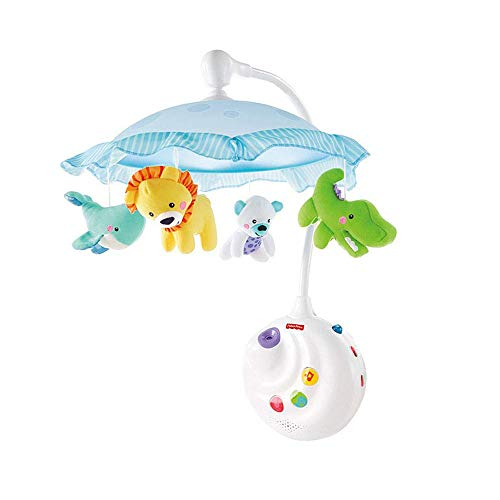 Fisher-Price 2-in-1 Projection Crib Mobile, Preci