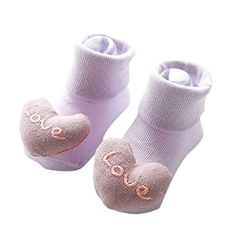 WEXCV Baby Mädchen Kleinkind Säuglings Newborn Schönen Süßes Tier Herbst Winter Warme Weiche Sohle Antirutsch Verdicken Schuhkleinkind Socken Schuhe Babyschuhe