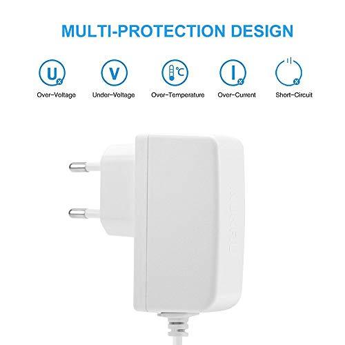Aukru 6V Babyphone Ladegerät Netzteil Ladekabel für Philips Avent Audio-Babyphone SCD503/26 - 4