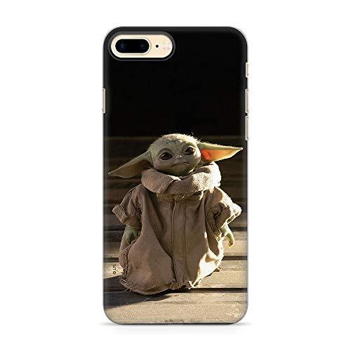 Ert Group SWPCBYODA052 Custodia per Cellulare Baby Yoda 001 iPhone 7 Plus/ 8 Plus, Multicolore