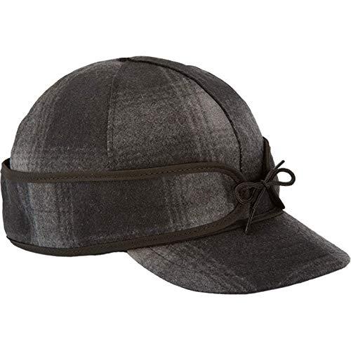 Stormy Kromer The Original Cap, tamaño, Negro, Gris (Black/Gray Plaid), 7