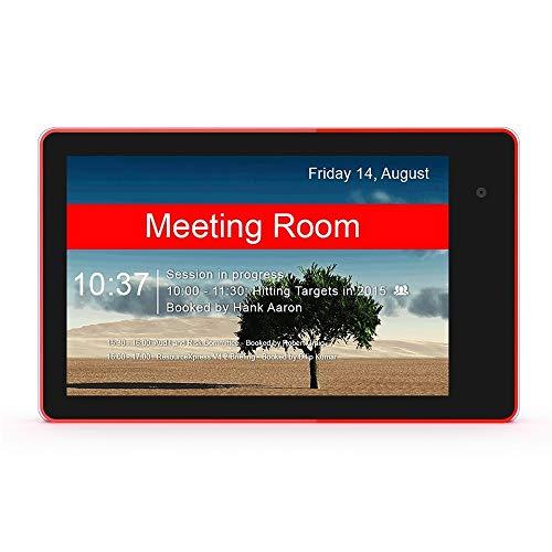Android HSD1032 Pantalla táctil PC Todo en uno, de 10,1 Pulgadas, 2 GB + 16 GB, Android 8.1, RK3288 Quad Core de Cortex A17 1,8 GHz, Soporte de Bluetooth/WiFi/SD/OTG (Negro) (Color : Black)