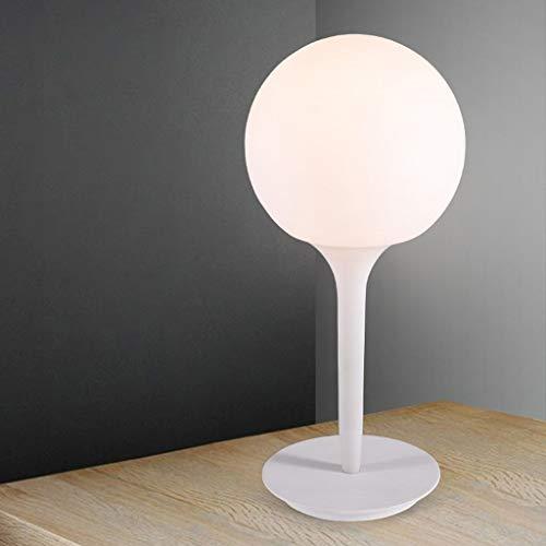WEI-LUONG Lámparas de mesa, personalidad simple arte Den Salón Dormitorio lámpara de cabecera, Touch Luces de cristal minimalista creativo de la manera de la personalidad de lectura luz de la noche LE