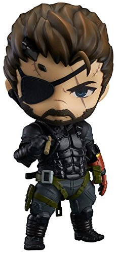 Metal Gear Solid V The Phantom Pain Nendoroid Figur Von Venom Snake Sneaking Suit Zu Sehen. 10 cm