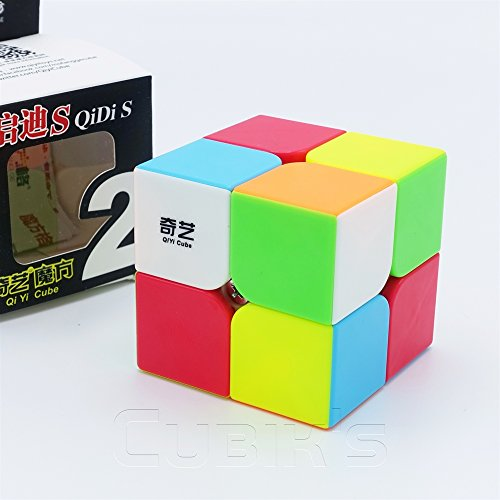 qidi S * – 2 x 2 Professional & Competition Speed Cube met de Game 3d puzzel – stickerless