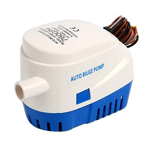 Amarinmade 12 V automatische dompelpomp met vlotter 760 GPH Automatic