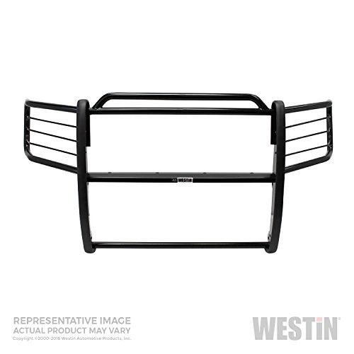 Westin 40-1205 Sportsman Black Steel Grille Guard