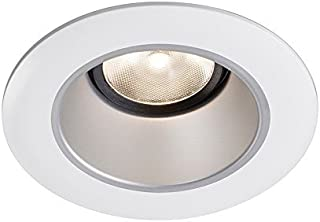 Lightolier L3RDW 3 Inch Down Light Accent Trim Round White Cone White Flange Lytecaster