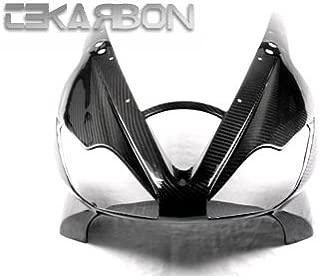 Tekarbon, Carbon Fiber Front Fairing, for Triumph Daytona 675 (2006-2008), 2x2 Twill Weave