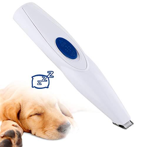 FISHOAKY Tierhaarschneider für Hunde und Katze, Profi Leise Hundeschermaschine Haarschneider Haarschneidemaschine Schermaschine, Haustier Grooming Clipper Haare Elektrisch Wiederaufladbar Drahtlose