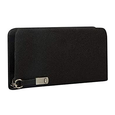 AWESOME FASHIONS Black & Brown Synthetic Women's & Girl's Wallet (AF040)