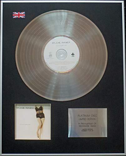 Disque CD Platinum LP Edition Limit/ée Mon Pays Cest Amour Johnny Hallyday Century Presentations