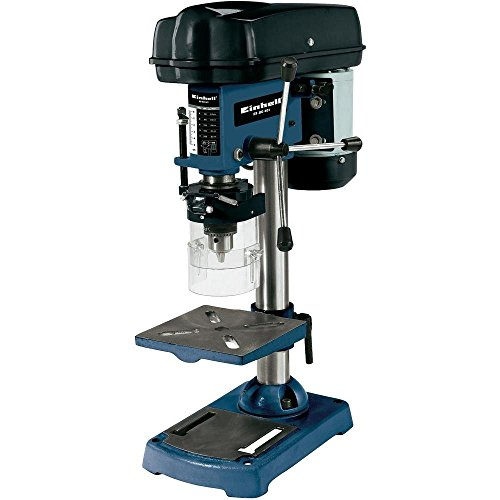 Einhell Säulenbohrmaschine BT-BD 401 (350 W, Bohr ؘ 1,5-13 mm, Bohrtiefe 50 mm, Drehzahlregelung, stufenlose Tischhöhenverstellung)