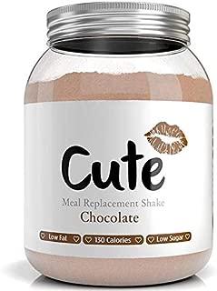 Cute Nutrition Batido de Reemplazo de Comida Sabor Chocolate