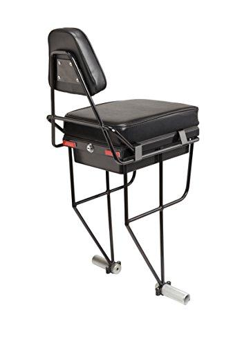 Companion Bike Seat and Backrest, Black