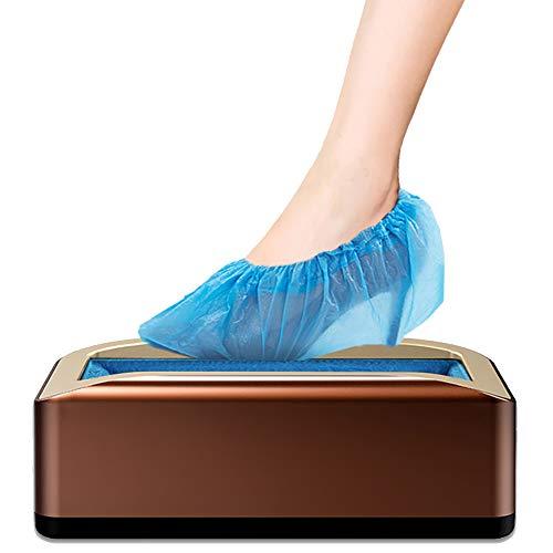 Praktische antisliphoezen dispenser, automatische kofferbakmachine, geschikt voor alle soorten schoenen en laarzen, met 200 stuks plastic waterdichte schoen