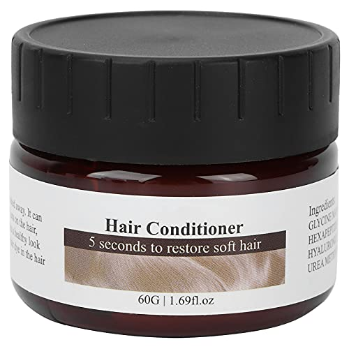 Moisturizing Hair Conditioner, 60g Hair Conditioner Safe Harmless for Nourish Hair Grow for Damaged or Dry Hair for All Hair Types