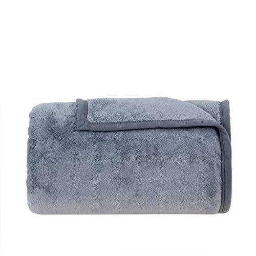 Cobertor Solteiro Buddemeyer Aspen 100% Poliéster Azul