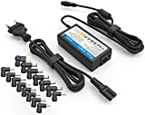 Laptop Universal Netzteil Ladekabel für Lenovo ideapad Yoga Dell Inspiron XPS Acer Toshiba Sony Asus Vivobook Zenbook Chromebook HP Stream Chromebook mit 15 Adapterstecker Notebook Universalnezteil