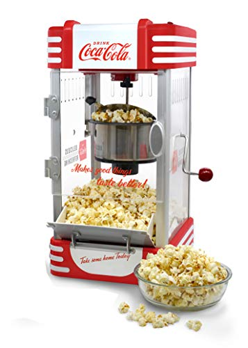 Salco Popcorn Maker, Popcornmaschine SNP-27CC, 310, Rot