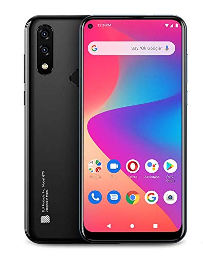 G70 Smartphone by BLU | Locked to Snapfon Network | Activation Kit Included | 4G LTE Nationwide Coverage |