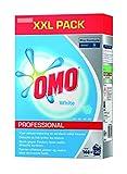 Omo Professional 100963000 Buntwaschmittel, Pulver für strahlend weiße Wäsche, hohe Flecklösekraft, für 120 Wäschen