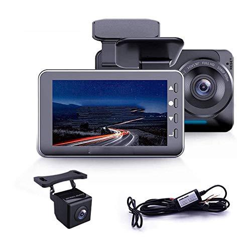 LKNJLL Frente Registrador de la conducción FHD DVR cámara espía Interior y Oculto bebé Monitor Dual 1080P la cámara por un Taxi del Carro del Coche
