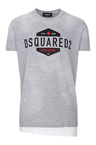 DSquared T-Shirt (M-54-Ts-60873) - S(DE) / S(IT) / S(EU) - grau