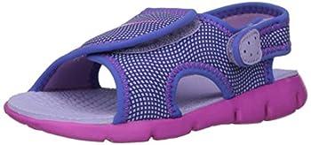 Nike Kids  Sunray Adjust 4 Toddler Sandals  8c Hydrangeas/Fire Pink