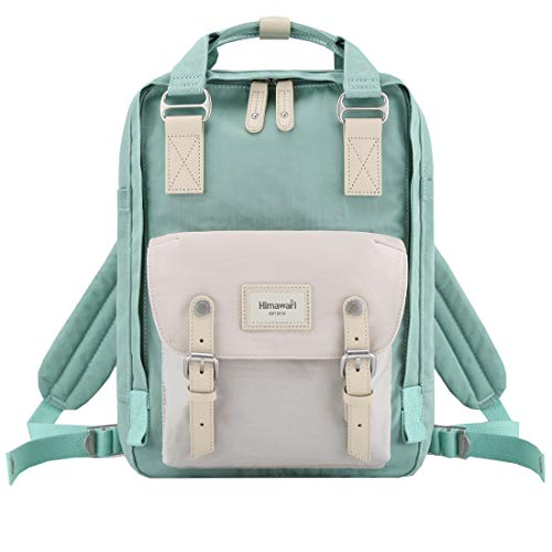 "Himawari School Waterproof Backpack 14.9"" College Vintage Travel Bag for Women,14 inch Laptop for Student (HIM-66#)"