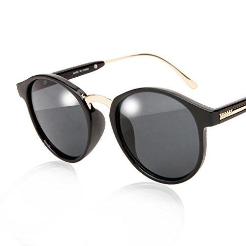 William 337 Oogkleding - Zonnebrillen - Transparante Frames - Kleurfilm Zonnebrillen - Ronde Zonnebrillen - Rijden Zonnebrillen