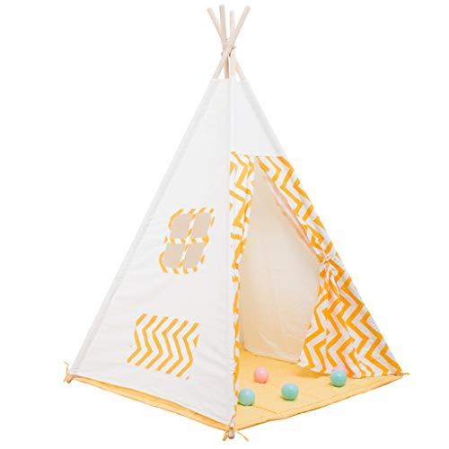 Kinderhausdekoration Tuch Zelt, einfach und Breathable Game House Junge Und Mädchen Spielzeug Holzständer Spire Bequeme Lagerung 6 Styles 120 * 120 * 160CM Fotografie Requisiten