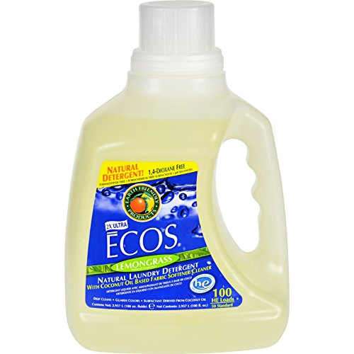 Earth friendly Products Ecos lemongrass Laundry Detergent 100lavaggi 2.96litri