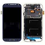 QDH I9505 LCD For Samsung Galaxy S4 Display I9500 I337 I545 LCD with Touch Screen Digitizer Assembly with Frame with Tools (i9505 Azul)
