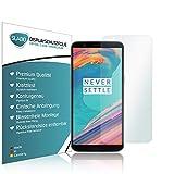 Slabo 4 x Bildschirmschutzfolie für OnePlus 5T Bildschirmfolie Schutzfolie Folie Zubehör Crystal Clear KLAR