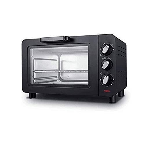 Z-Color 12L 1500W del hogar Mini Horno eléctrico, Acero Inoxidable panificadora automática, casero Cocina tostadora del Pan, Tiempo y Temperatura Puede ser controlada