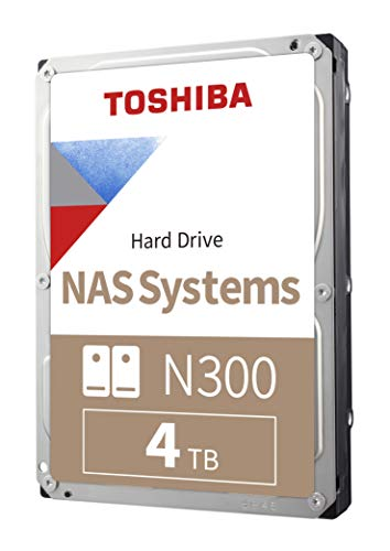 Our #4 Pick is the Toshiba N300 4TB NAS Internal Hard Drive