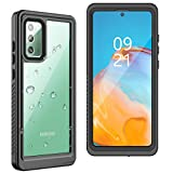 YUANSE Samsung Galaxy Note 20 Waterproof Case, Note 20 Case with Built-in Screen Protector Fingerprint Reader Heavy Duty Case Shockproof Waterproof Case for Note 20 5G 6.7(inch)