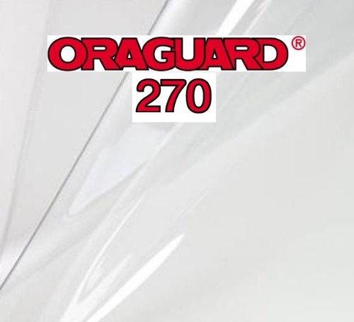 Steinschlagschutzfolie, Lackschutzfolie Oraguard 270 transparent, selbstklebend 1m x 70cm, Universell