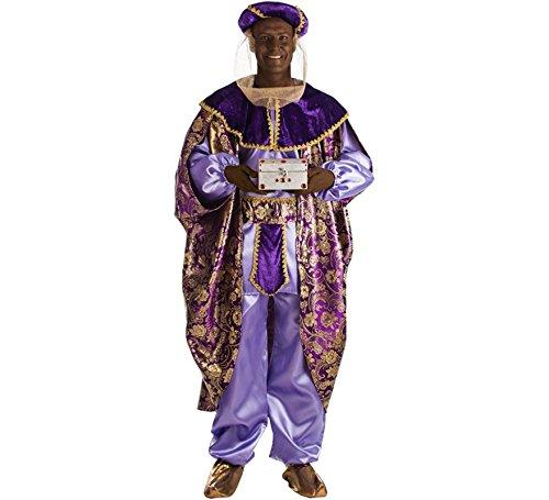 Disfraz de Rey Baltasar para Hombre
